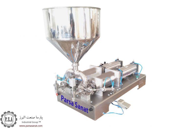 دستگاه پرکن عسل نیمه اتوماتیک