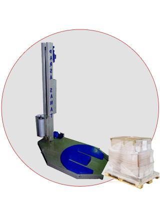 دستگاه استرچ جک پالت - استرچ پالت