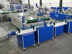 نمایی از خطوط تولیدی پارسا صنعت البرز